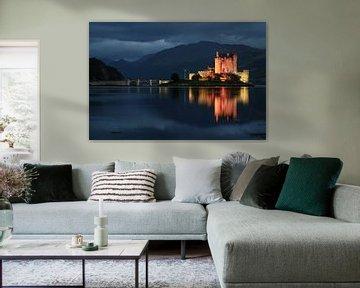 Schloss, Eilean Donan Castle Schottland von Desiree Tibosch