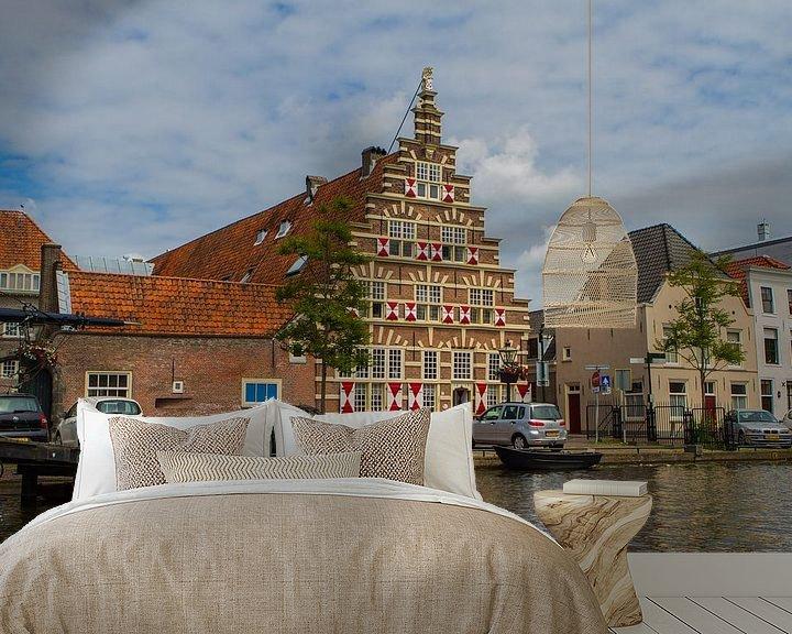 Sfeerimpressie behang: Galgewater, Leiden  van Leanne lovink