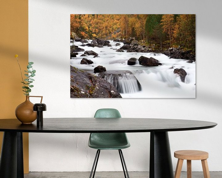 Sfeerimpressie: Autumn in Norway van Ellen van Drunen