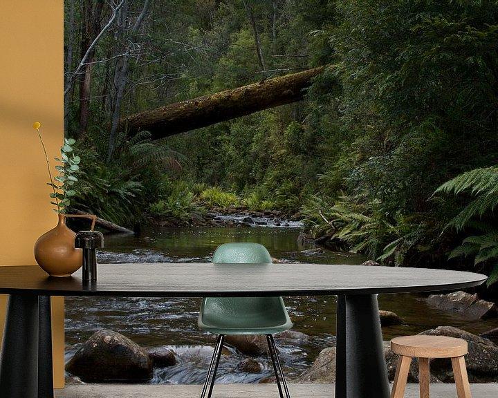 Impression: Stream in the rainforest  sur Arne Hendriks