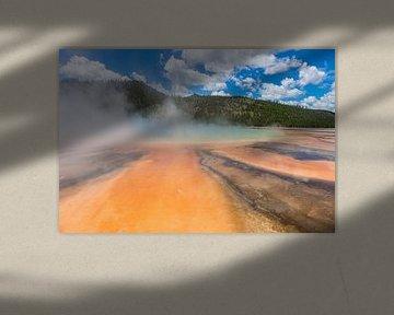 Yellowstone Geyser 004 van Jan Peter Mulder