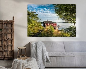 Archipelago on the swedish coast van Rico Ködder