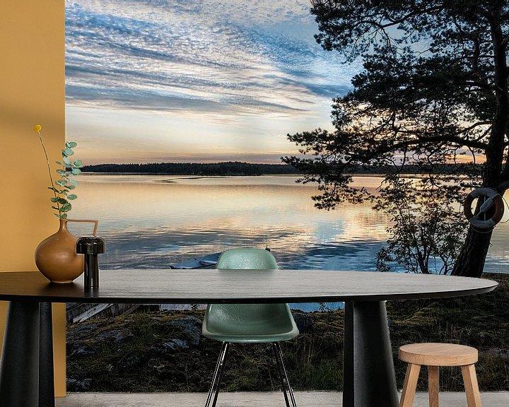 Beispiel fototapete: Schären an der schwedischen Küste von Rico Ködder