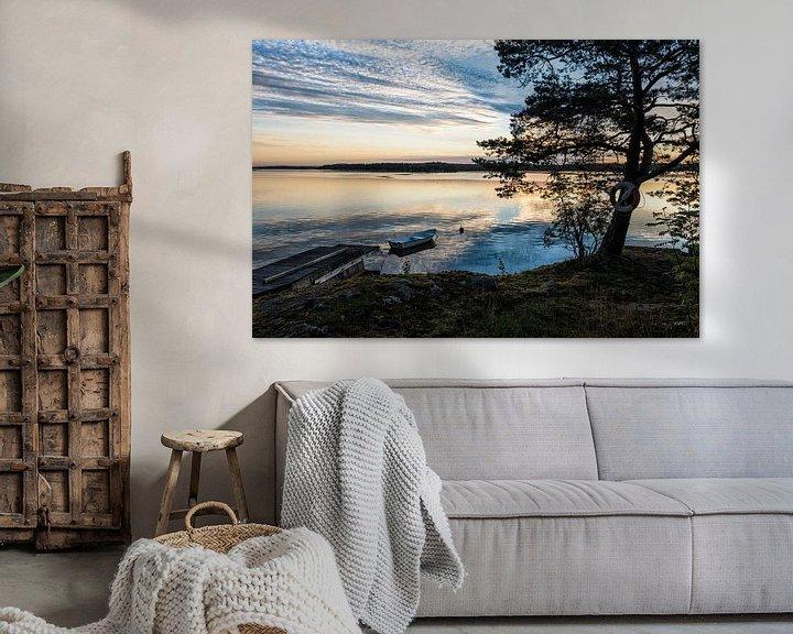 Beispiel: Schären an der schwedischen Küste von Rico Ködder