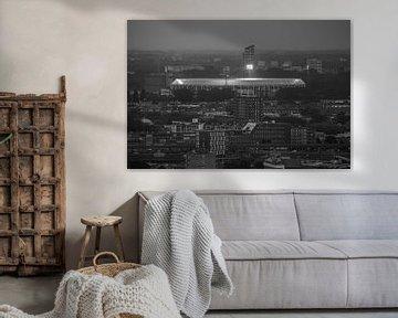Feyenoord stadion 18 van John Ouwens