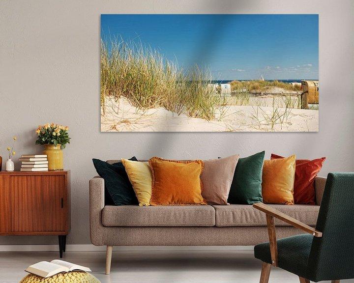 Sfeerimpressie: Beach overlooking the Baltic Sea van Dirk Thoms