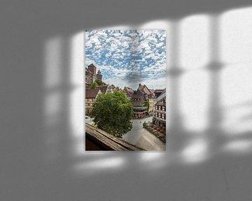 NUREMBERG Old Town Overview van Melanie Viola