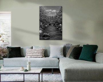 Typische Amsterdam Kanäle von Elbertsen Fotografie