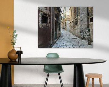 Sibenik street van Mario Miskovic