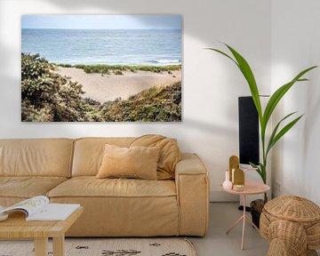 Duinen en  Zee van Oscar Limahelu