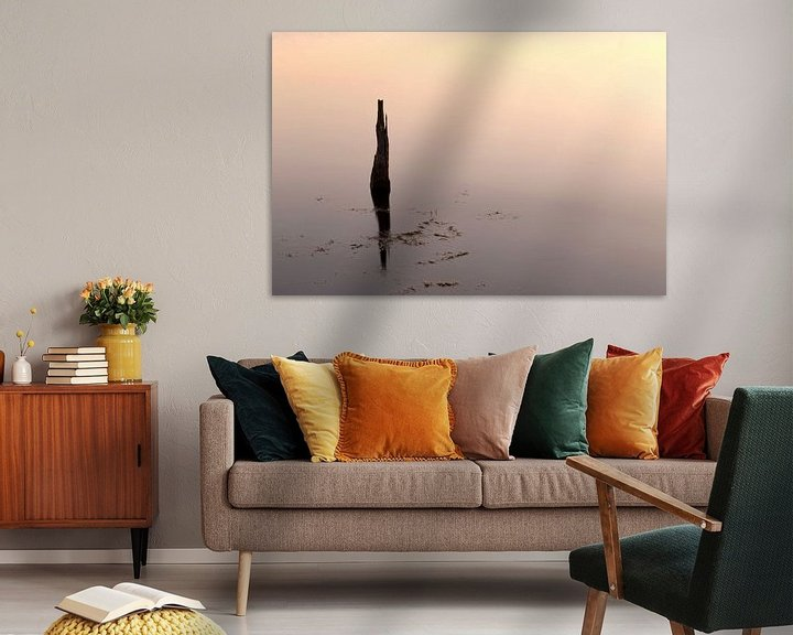 Sfeerimpressie: Reflectie.. van Miranda van Hulst