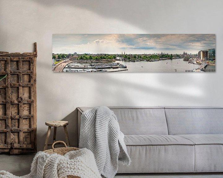 Sfeerimpressie: Amsterdam panorama  van Dirk Thoms