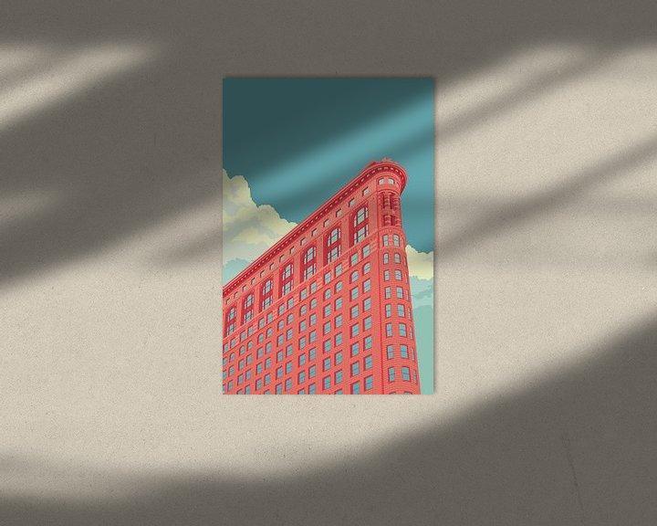 Sfeerimpressie: Flatiron Building NYC van Remko Heemskerk
