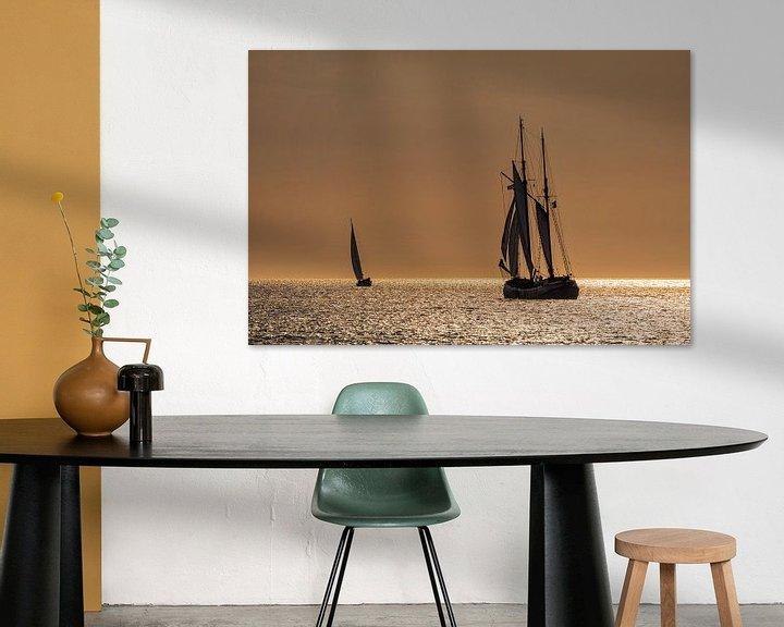 Beispiel: Segelschiffe auf der Hanse Sail von Rico Ködder