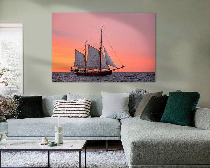 Beispiel: Segelschiff auf der Hanse Sail von Rico Ködder