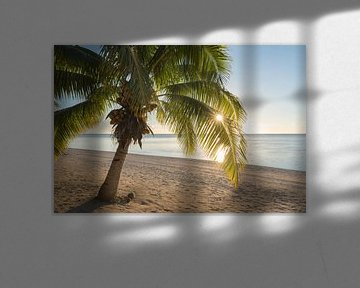 Zonsopkomst Aitutaki van Laura Vink