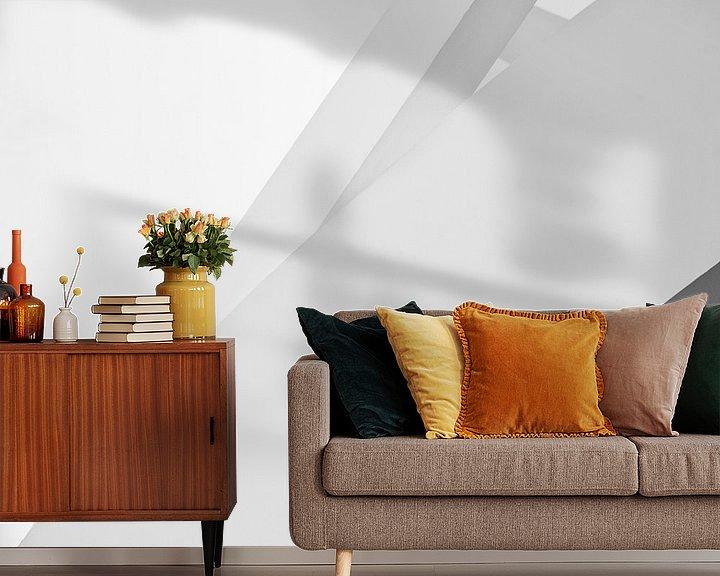 Sfeerimpressie behang: Guggenheim V van Frank Hoogeboom