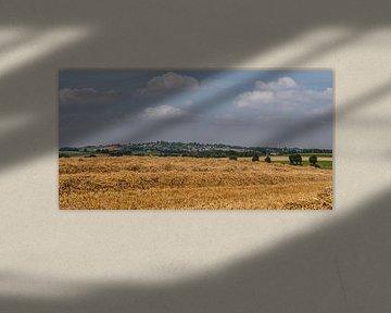 Panorama van de Huls bij Simpelveld von John Kreukniet