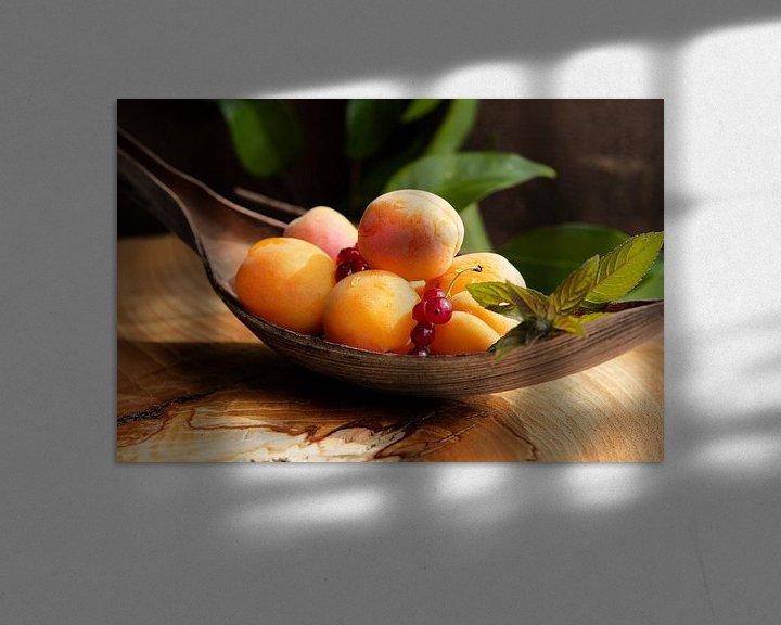 Sfeerimpressie: Verse abrikozen stilleven van Tanja Riedel