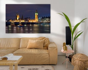 How dare you!? Westminster Palace / London van Rob de Voogd / zzapback