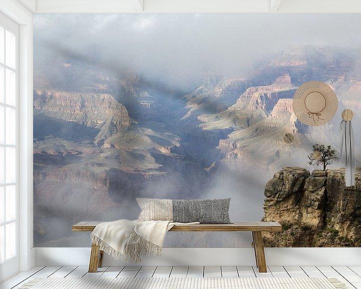Sfeerimpressie behang: Grand Canyon, South Rim, Arizona, Amerika van Henk Alblas