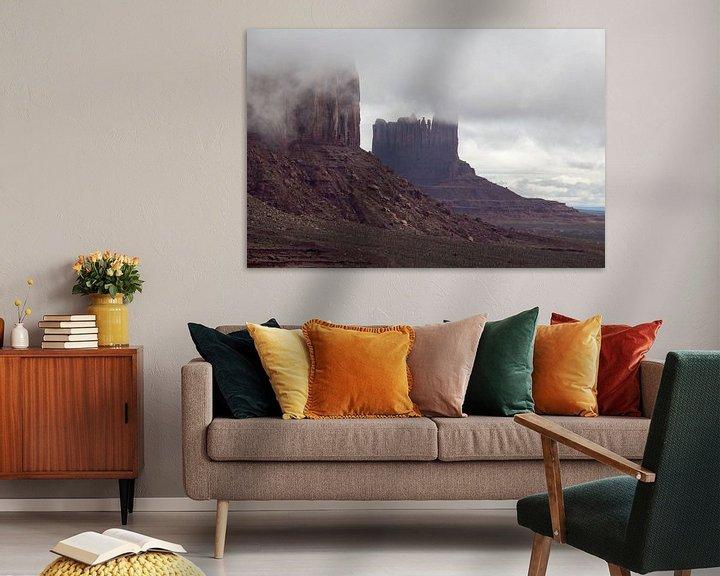 Sfeerimpressie: Monument Valley, Utah, Amerika van Henk Alblas