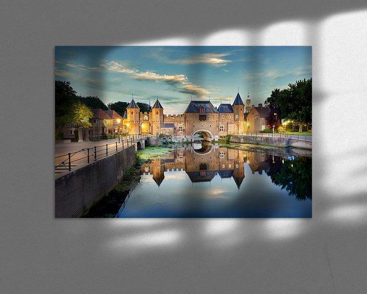 Impression: Sunset at the Koppelpoort sur Sjoerd Mouissie