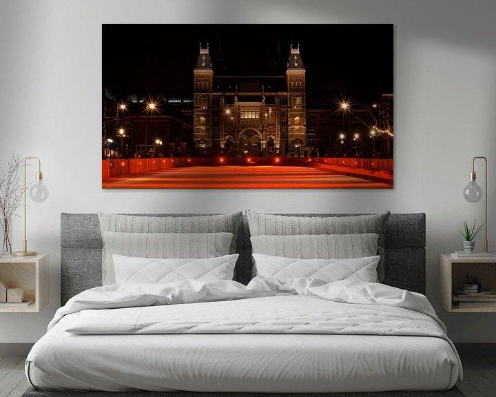 Impression: Patinoire rouge du Rijksmuseum - Amsterdam, Pays-Bas sur Be More Outdoor