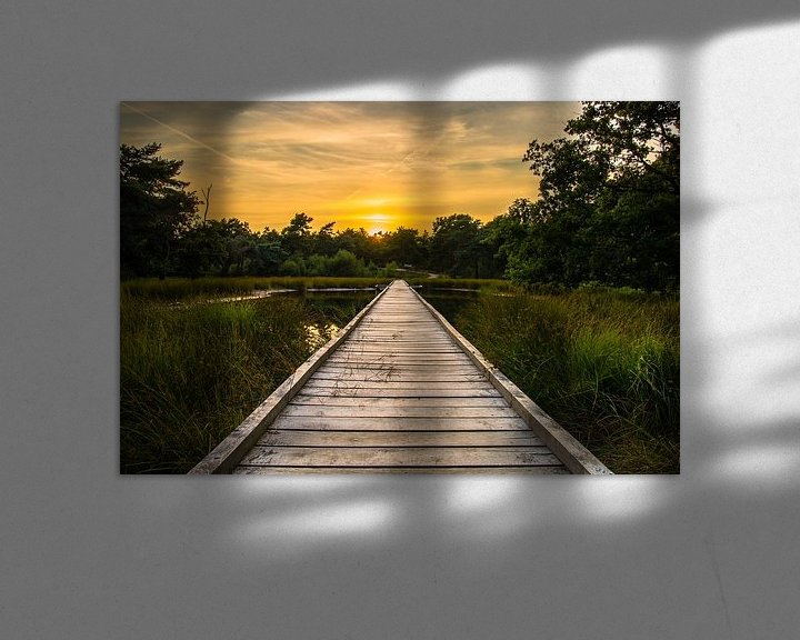 Sfeerimpressie: Sunset Walkway van William Mevissen
