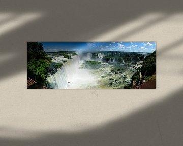 Watervallen van Iguaçu van Sjoerd Mouissie