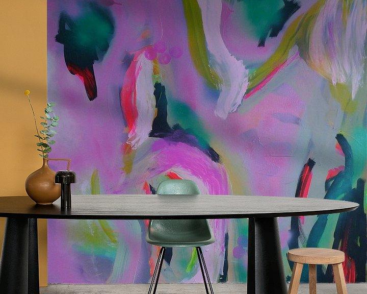 Sfeerimpressie behang: Hidden  van Emma Ball