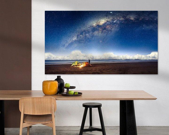 Sfeerimpressie: Camping under the galaxy van Martijn Kort