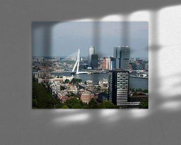 Rotterdam horizon d'une grande hauteur sur P van Beek