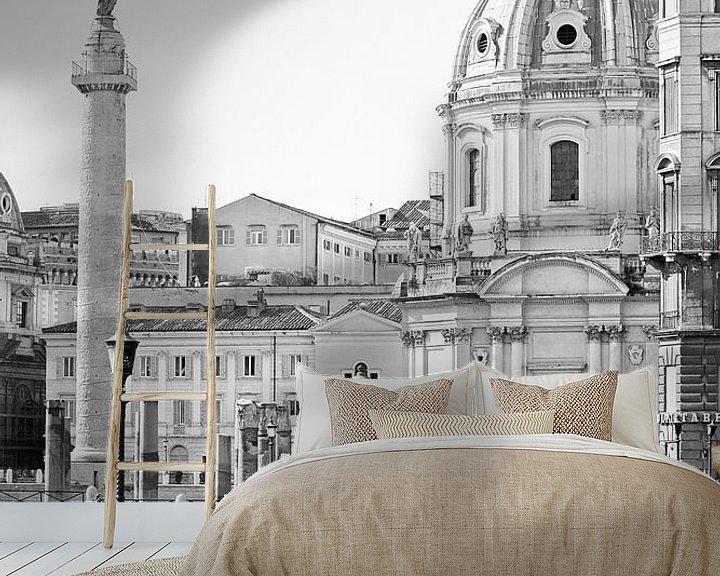 Sfeerimpressie behang: Rome ... eternal city I van Meleah Fotografie