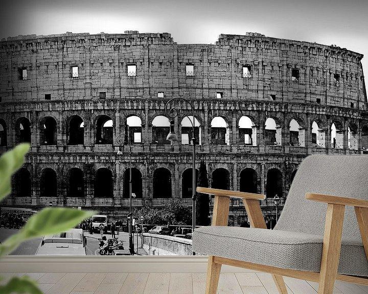 Sfeerimpressie behang: Rome ... eternal city II van Meleah Fotografie
