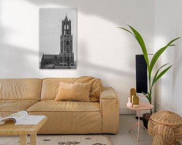"""Dom"" van Utrecht (Zwart-wit) von Kaj Hendriks"