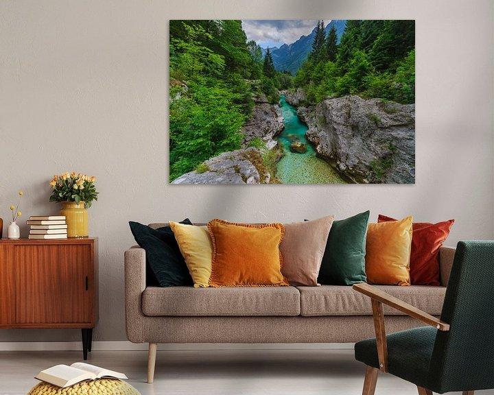 Impression: Soca gorge in Slovenia sur Marcel Tuit