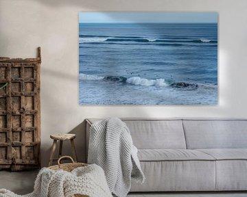 Nieuw Zeeland - Surfers van Maurice Weststrate