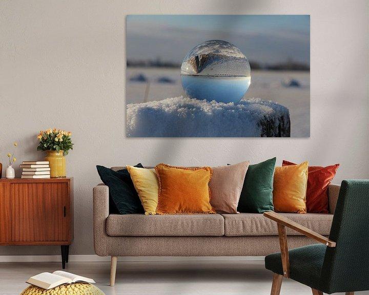 Sfeerimpressie: Glazen bol  van Fotografie Sybrandy