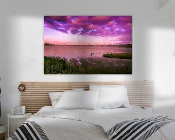 Purple morning... von Hermen van Laar
