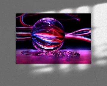 Glazen bol (ART/Kunst) van Fotografie Sybrandy