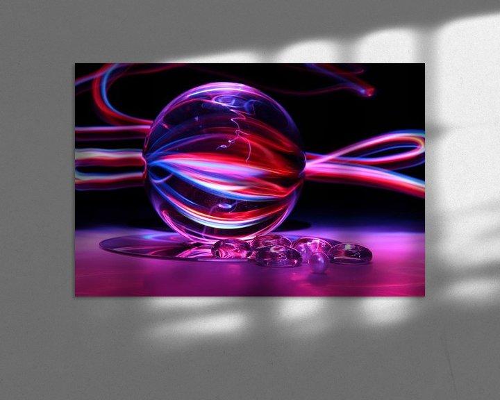 Beispiel: Glaskolben (Kunst / Art) von Fotografie Sybrandy