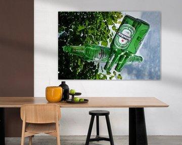 Heineken an der Wand von Fotografie Sybrandy
