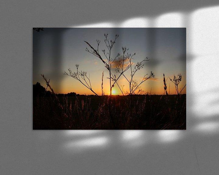 Sfeerimpressie: Zonsondergang  van Fotografie Sybrandy
