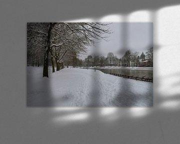 park meezenbroek (MSP te Heerlen) in de winter van Francois Debets