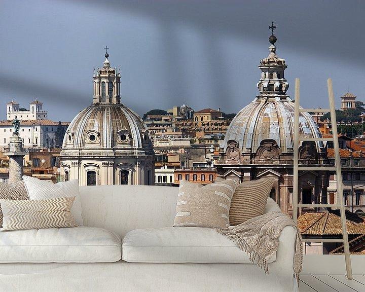 Sfeerimpressie behang: Rome ... eternal city III van Meleah Fotografie