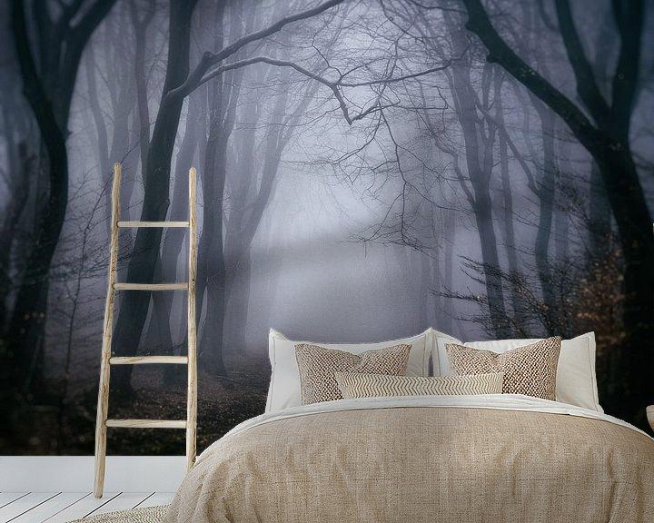Sfeerimpressie behang: Diepe eenzaamheid van Tvurk Photography