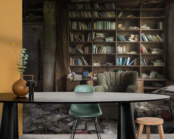 Beispiel fototapete: Ihre eigene Bibliothek von Perry Wiertz