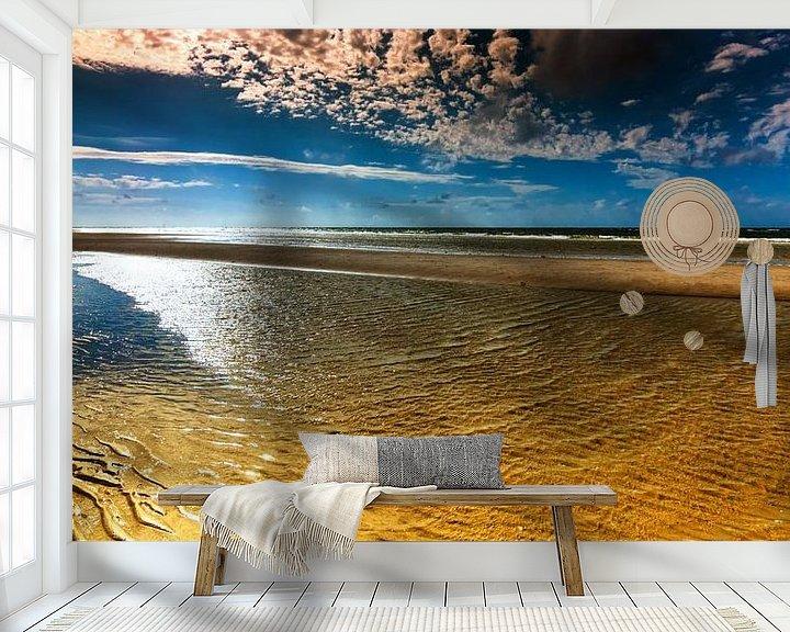 Sfeerimpressie behang: Noordzee Getijden van Reiner Würz / RWFotoArt