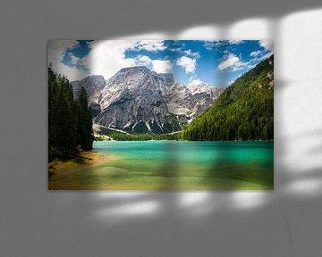 Lago di Braies , Pragser Wildsee van Reiner Würz / RWFotoArt